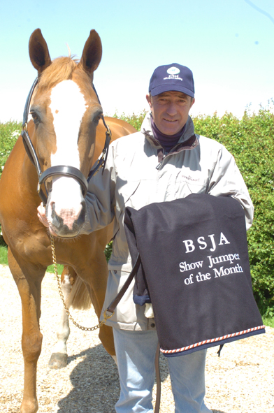 Michael Whitaker - BSJA Showjumper of the Month