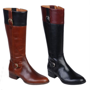 Ariat York Long Leather Riding Boot Style Boots - Ladies
