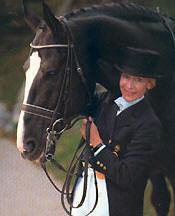 Christine Stückelberger Swiss Dressage Rider