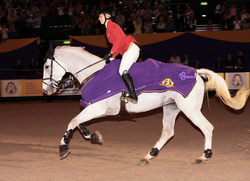Ellen Whitaker and Ladina B HOYS