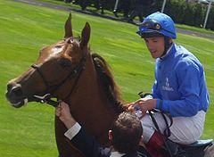 Italian Jockey Frankie Dettori