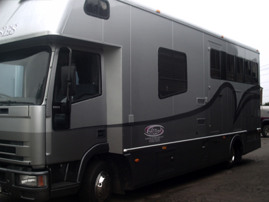 Geoff Baines HGV Horseboxes For Sale