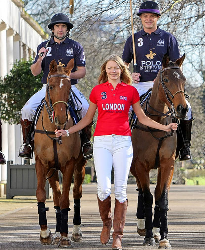 Jodie Kidd - Polo Player