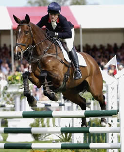 Event Rider Pippa Funnell and Supreme Rock
