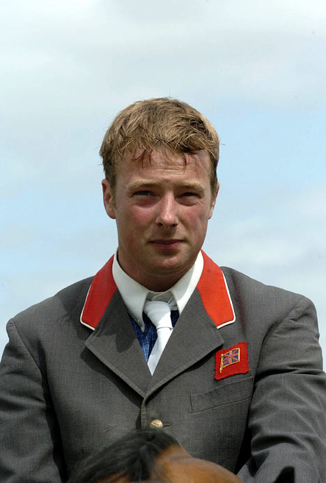 Robert Whitaker - British Showjumping Rider