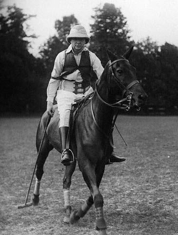 Polo Player Winston Churchill