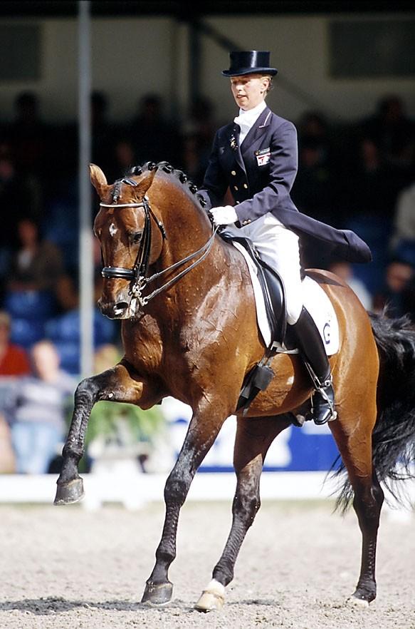 Dressage Rider Anky Van Grusven