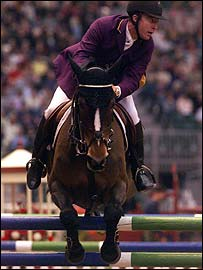 Michael Whitaker Showjumping horse